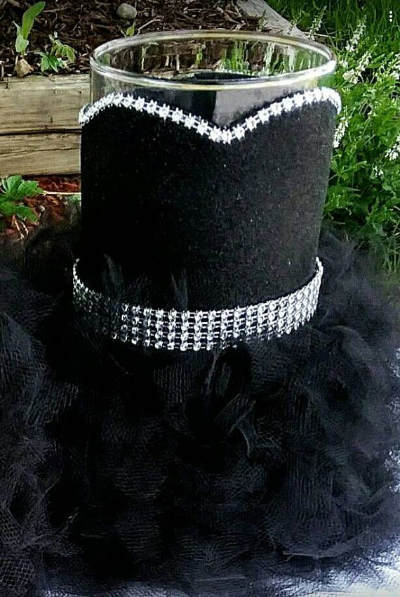 Black Wedding Centerpieces Vase Little Black Dress Vase Black