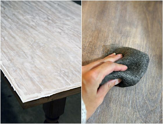 IHeart Organizing: Wax On, Wax Off - Finishing Up the Studio Desk... Using lime…