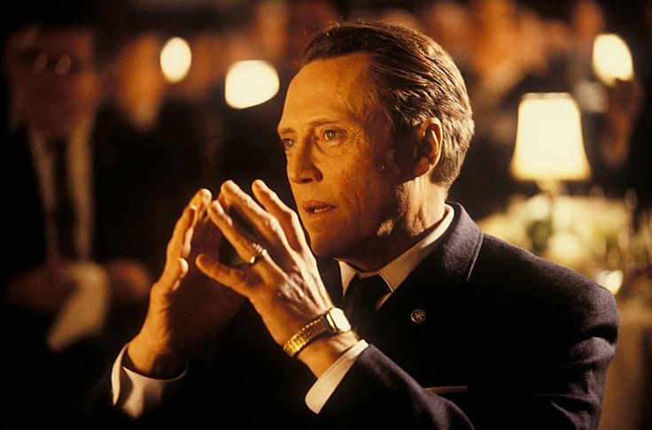 """""""Catch Me If You Can"""" movie still, 2002.  Christopher Walken as Frank William Abagnale Sr.."""