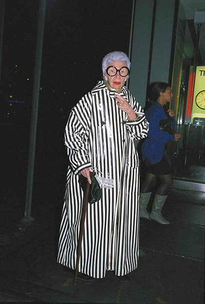 Iris Apfel by Bill Cunningham