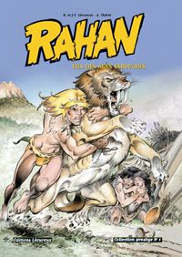 Rahan (french anime and manga) from 1980s.