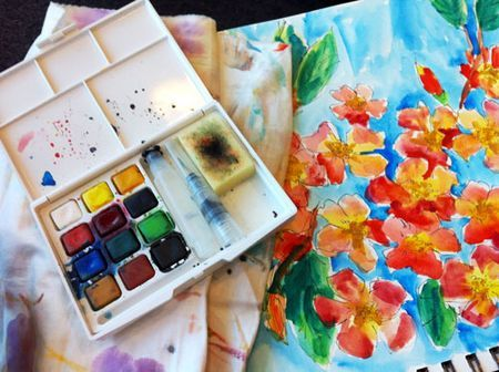 Art Journal Every Day - list of posts dealing with different parts of art journaling