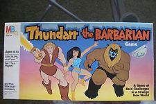 Thundarr the Barbarian Game Milton Bradley RARE Board Game 1982 Vintage Cartoon