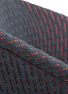 color accent textile CMF