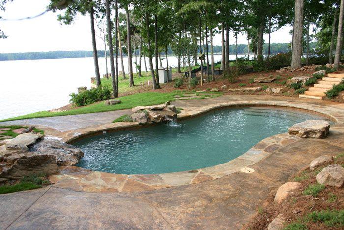 Gunite swimming pools | Pamlico Pool Company