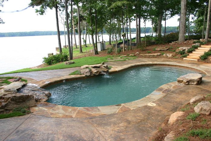 Gunite swimming pools | Pamlico Pool Company