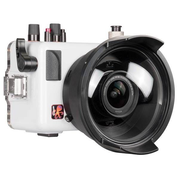 200dlm A Underwater Ttl Housing For Canon Eos M50 Kiss M Mirrorless Digital Cameras Underwater Camera Digital Camera Underwater House