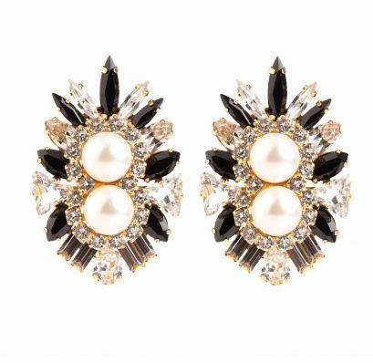 Lady Earrings Black