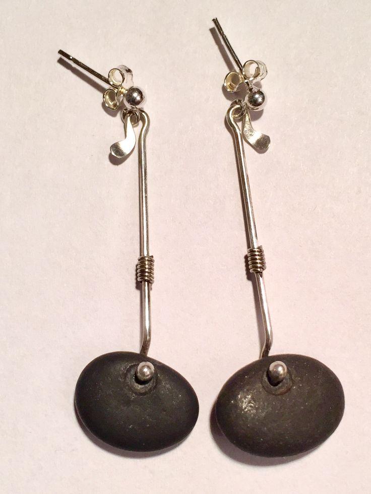Earrings made by Viviana  Torun Bülow Hübe.  I am so happy to own these.