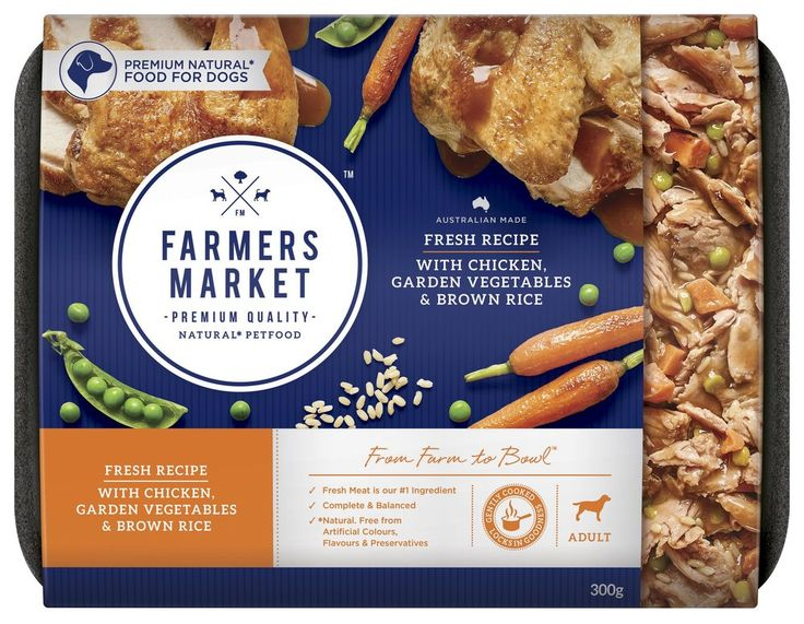 FARMERS MARKET Natural Pet Food — The Dieline - Branding & Packaging Design