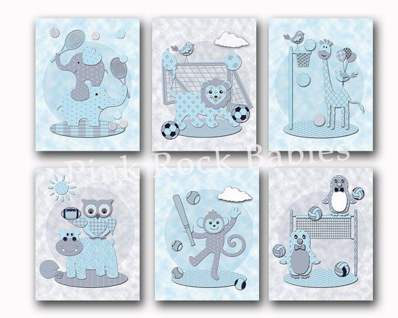 Hey, I found this really awesome Etsy listing at https://www.etsy.com/listing/250012543/baby-boy-room-wall-art-animals-nursery