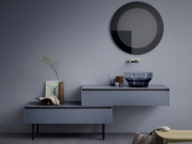 Die besten 20+ Meuble sous vasque Ideen auf Pinterest | Grauer ... | {Doppel waschtischunterschrank design 63}
