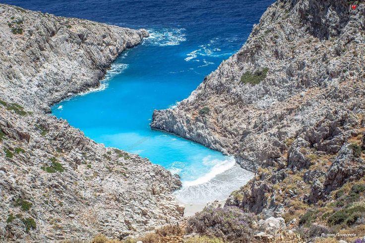 Stefanou beach (Seitan limania), Chania, Crete, Greece