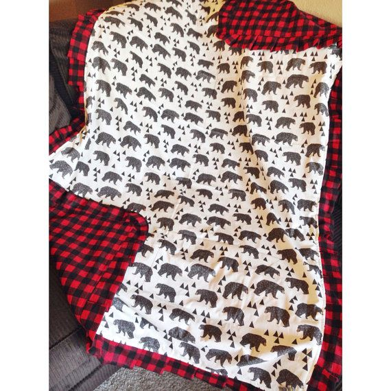 Throw Comforter Toddler Blanket Gorgeous by LoveAndLullabiesCB