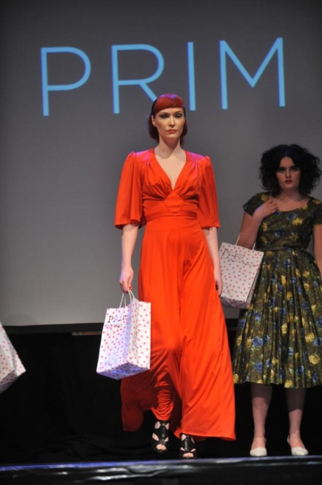 Norwich Lanes fashion show at arts centre  Photo: Bill Smith