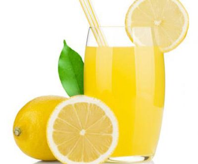 Lemon and water - best drink of the day
