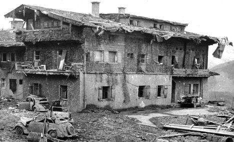 Hitler also made sure there was a security gate installed for How many homes were destroyed in germany in ww2