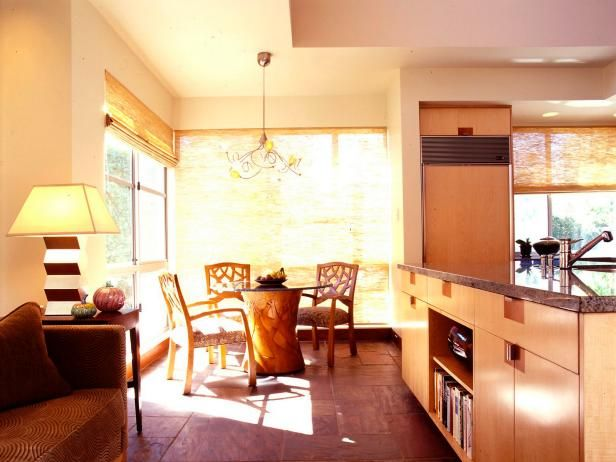 HGTV.com shows you warm contemporary-style kitchens and gives you design ideas with pictures for your kitchen renovation.