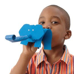 elephant party blowers