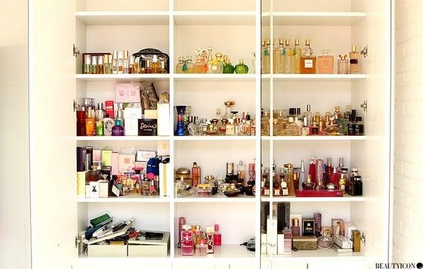 Moja szafa z perfumami