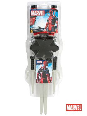 Deadpool Toy Weapon Kit - #halloweencostumes #Halloween #Coupons #Deals #Offers