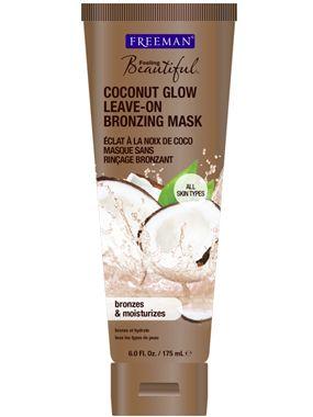 Freeman Coconut Glow Leave-On Bronzing Mask - New