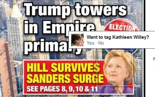 Facebook confuses Hillary Clinton, Kathleen Willey | Facial recognition system thinks Clinton accuser and Democratic contender are one and the same | Media Equalizer