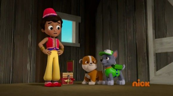 Paw Patrol Season 3, Episode 1 – Pups Find a Genie / Pups Save a Tightrope Walker