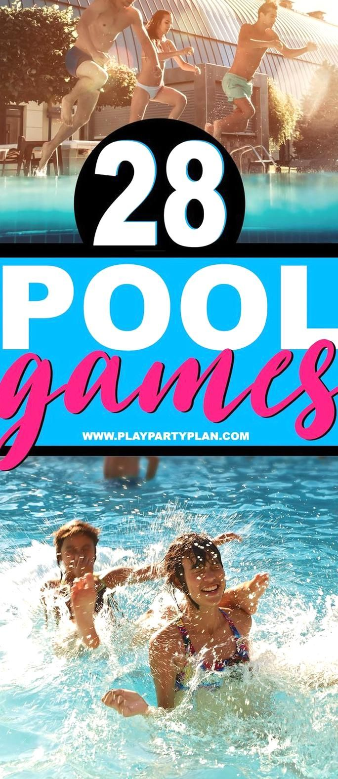 28 Of The Best Pool Games For Teens Kids Or Even For Adults Fun Swimming Pool Games You Can Play Without T Swimming Pool Games Fun Pool Games Pool Party Games