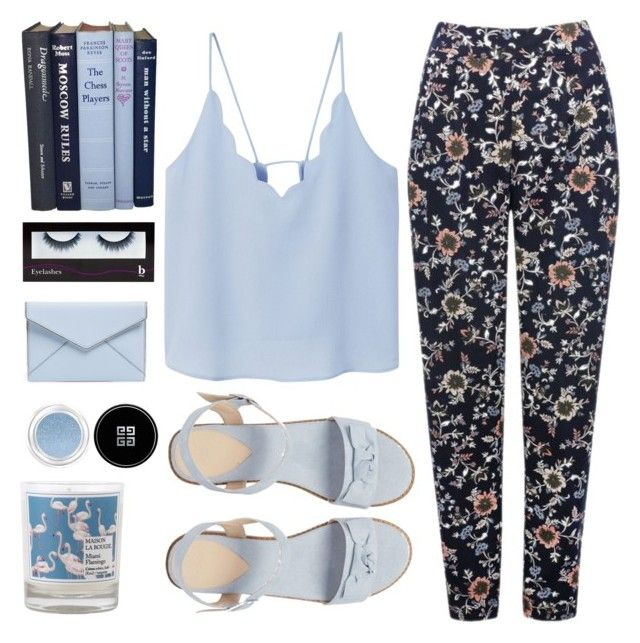 """""""""""dreaming of you this hot summer night, but you will never know..``."""" by sweet-jolly-looks ❤ liked on Polyvore featuring M&Co, MANGO, ASOS, BBrowBar, Rebecca Minkoff, Givenchy, Maison La Bougie, Summer, casual and love"""