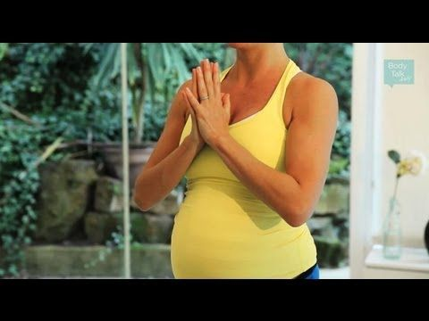 Pregnancy Yoga Episode 2: 10 Min Workout - Katy Appleton - standing