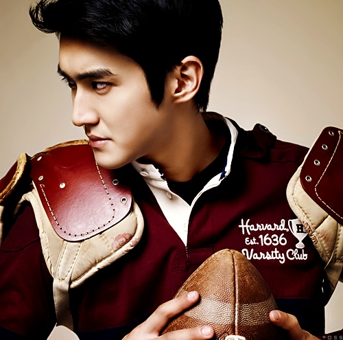 Choi Siwon. Oh my! Why are you so handsome?