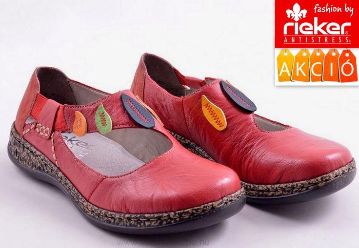 Rieker cipő talpbetétje bőrből készült és a gumis pántnak köszönhetően nagyon kényelmes. A Rieker lábbeli talpa rugalmas (Antistresss) elnyeli az ütéseket és a rázkódásokat :)  http://valentinacipo.hu/rieker/noi/piros/lyukacsos-felcipo/142146440  #rieker #rieker_cipő #rieker_webshop #Valentina_cipőboltok