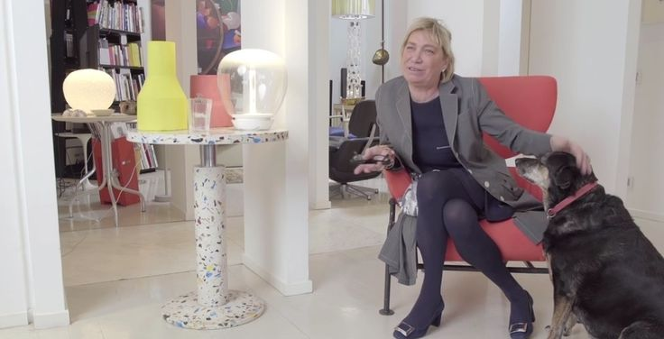 """[INTERVIEW] """"Design to go inside the meaning"""" Carlotta de Bevilacqua being interviewed at #home. #designer #architect #mother #wife #woman"""