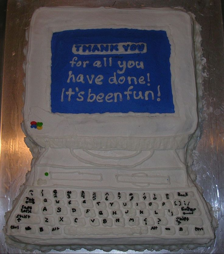25 Best Ideas About Computer Cake On Pinterest: 13 Best Images About Computer Cakes On Pinterest