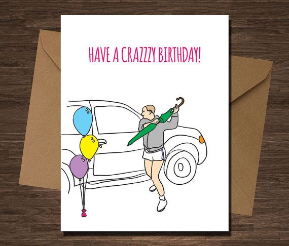 I NEED THIS! Britney Spears Birthday Card Have A Crazzzy by diamonddonatello