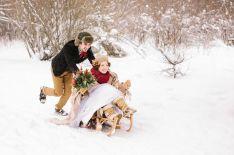 Влюбиться в зиму: вторая свадьба Даши и Сережи