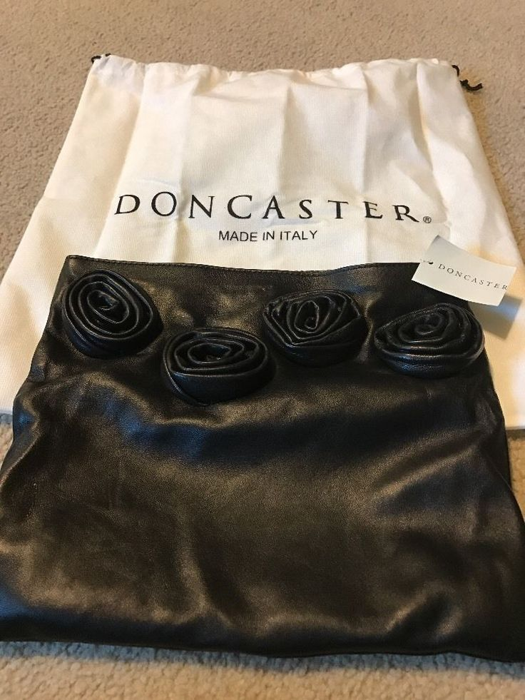 Doncaster черный кожаный сахар и перец клатч сумочка новый с бирками | Одежда, обувь и аксессуары, Женские сумки, Сумочки и клатчи | eBay!