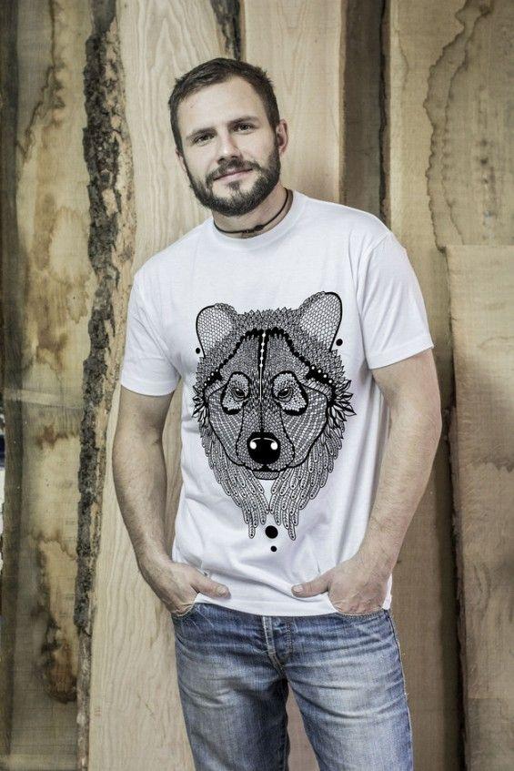 Koszulka Męska Miś - Malinowe Cacko