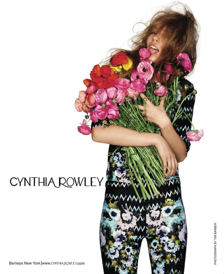 LOVE THIS: Cynthia Rowley Spring 2012 Campaign by Tim Barber