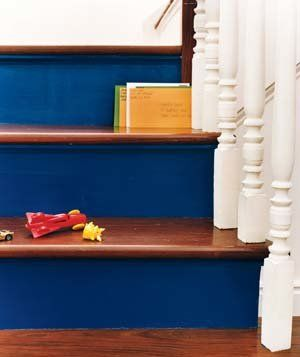 what is the best way to paint kitchen cabinets 1000 ideas about painted stair risers on 9967