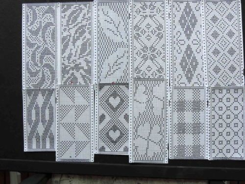 PATTERNS-12-FAIR-ISLE-for-punchcard-knitting-machines