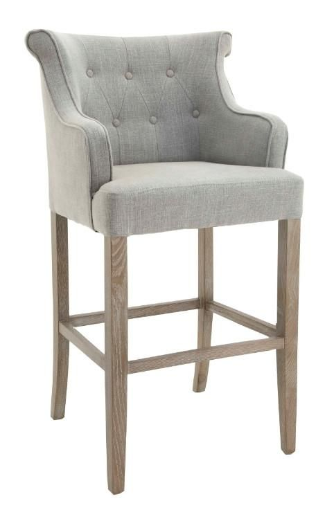 Gala Armchair Linen Stool Grey 20 Off Instore This Week Comfy