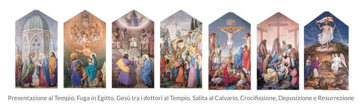 Basilica Minore dell'Addolorata-Le Tele del Maestro Trivisonno i 7 dolori