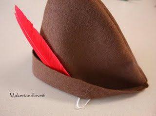 Como hacer el sombrero de Peter Pan