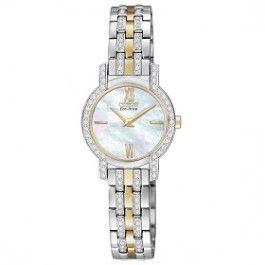 Citizen Ladies Eco-Drive with Swarovski Crystals EX1244-51D: Star Jewels