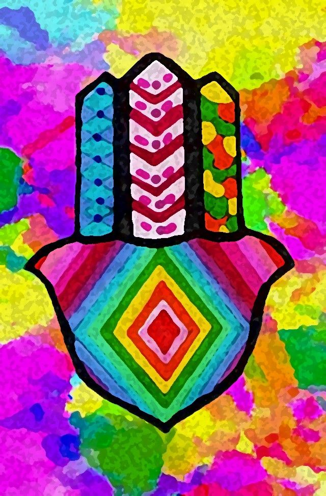 Hamsa Multicolor...
