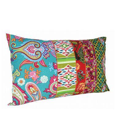 ! Paisley Rectangle Throw Pillow
