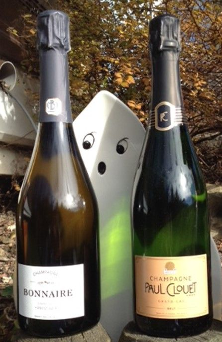 Halloween with Champagne Bonnaire and Paul Clouet