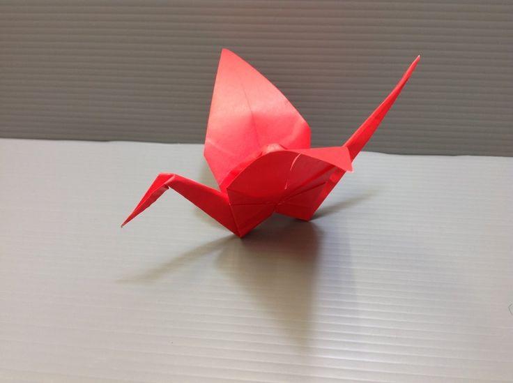 Daily Origami: 001 - Crane